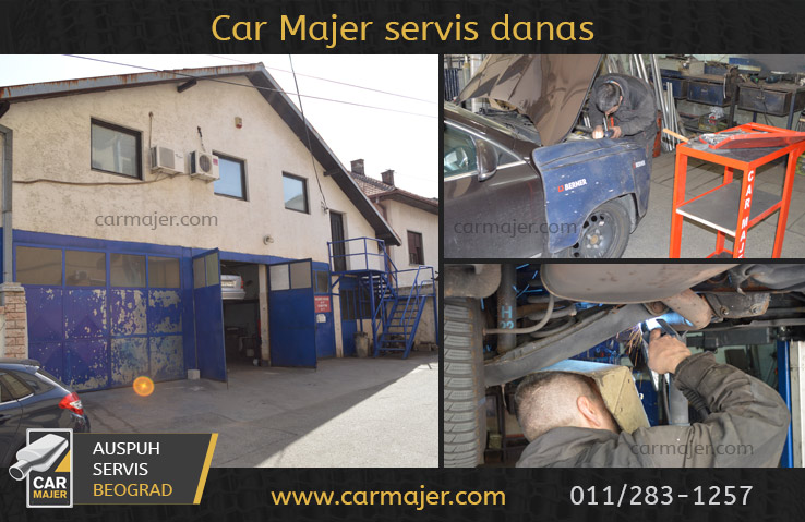 Auspuh servis Beograd - Car Majer